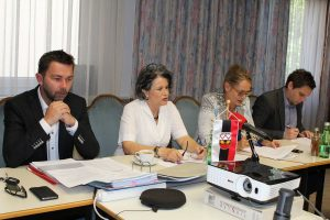 Pressekonferenz Liste Hedi Wechner und FWL am 11. Mai 2017. Foto: Veronika Spielbichler