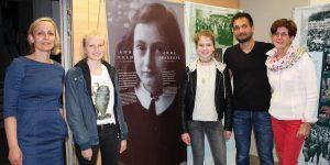 Anne Frank Ausstellung an der NMS1 Wörgl. Foto: Veronika Spielbichler