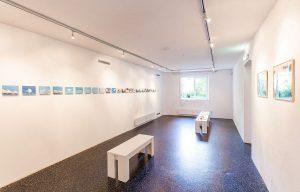 Arbeiten von James Clay in der Galerie am Polylog. Foto: Kurt Härting