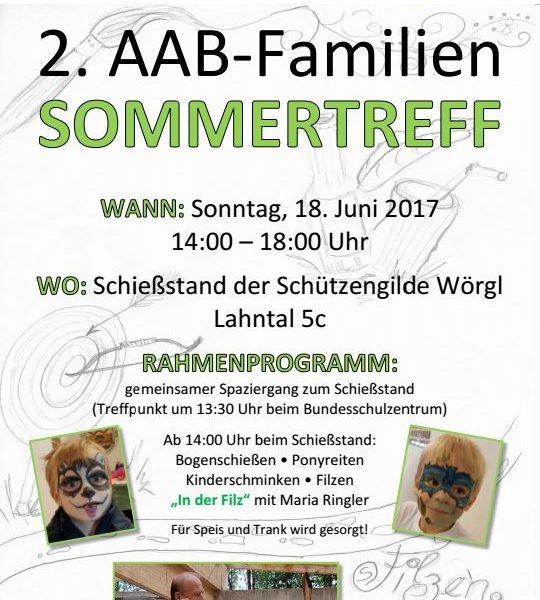 2. AAB-Familientreff in Wörgl.