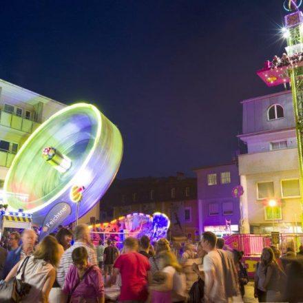 Auch das 35. Wörgler Stadtfest bietet wieder einen Vergüngungspark. Foto: Dabernig