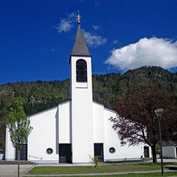 Pfarrkirche Bruckhäusl. Foto: Rosa Dollinger