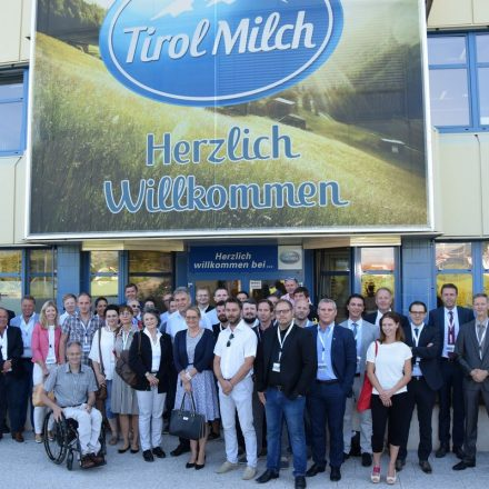 Über 40 Wirtschafter aus Wörgl nahmen am ersten Unternehmerfrühstück der Stadt Wörgl teil. Fotos: Stadt Wörgl/Haberl