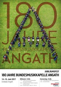 Die BMK Angath feiert am 14. und 15. Juni 2017 ihr 180-jähriges Bestehen. Foto: BMK Angath