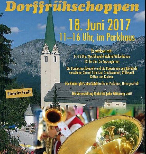 Kirchbichler Dorffrühschoppen 2017.