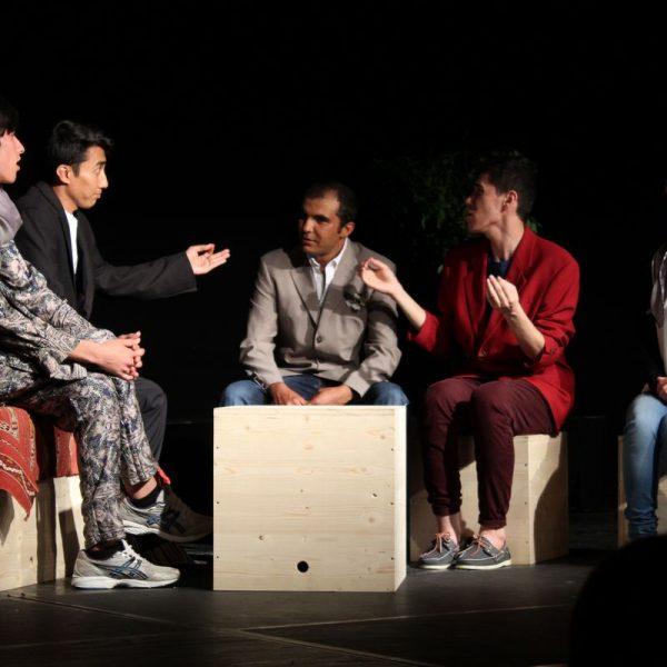 """Theater unterLand - """"Fremd daheim. Daheim fremd"""" - Premiere 21.6.2017. Foto: Veronika Spielbichler"""
