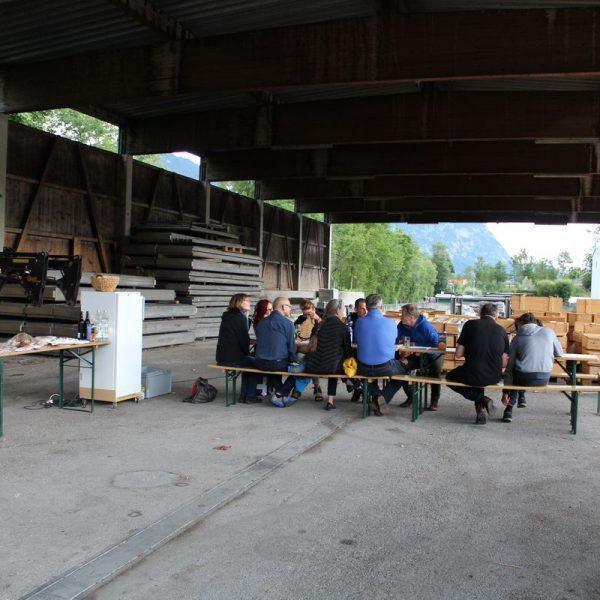 Wörgler Kulturstammtisch am 29. Juni 2017. Foto: Veronika Spielbichler