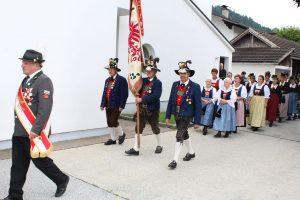 Nachprimiz von Christian Hauser am 9. Juli 2017 in Bruckhäusl. Foto: Veronika Spielbichler