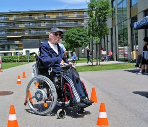 34. Sportfest im Rehabilitationszentrum Häring 2017. Foto: Martina Eder