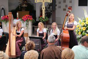 Academia Vocalis Volksmusik-Konzert in Mariastein 2017. Foto: Veronika Spielbichler
