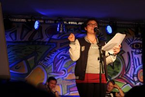 Kulturzone Poetry Slam am 14.7.2017. Foto: Veronika Spielbichler