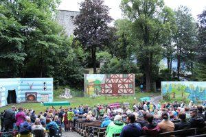 """Premiere """"Die Kluibenschädelsaga"""" am 30.6.2017. Foto: Veronika Spielbichler"""