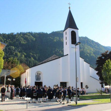 Verabschiedung Kooperator Christian Walch in der Pfarre Bruckhäusl am 15.8.2017. Foto: Veronika Spielbichler