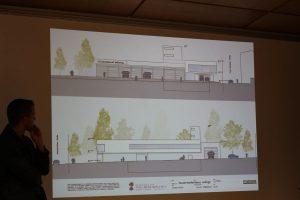 Siegerprojekt Präsentation Feuerwehrhaus Neubau Wörgl 22.8.2017. Foto: Veronika Spielbichler