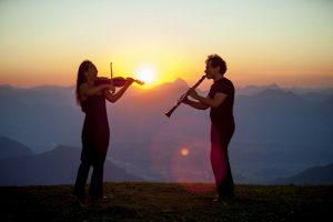 Auch beim 23. Kammermusikfest Hopfgarten gibt es Gipfelgenüsse auf der Hohen Salve. Foto: Trinkl