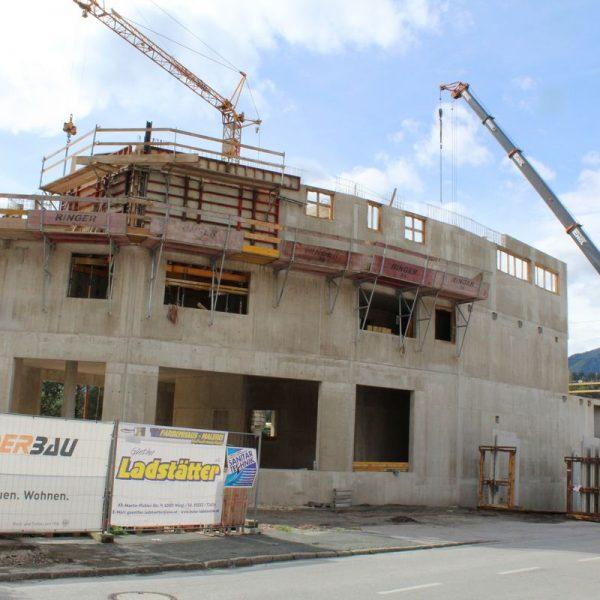 Baustelle Ladstätter September 2017. Foto: Veronika Spielbichler