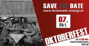 Oktoberfest der FF Wörgl am 7.10.2017.