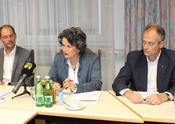 Budgetkonsolidierung Wörgl - Pressekonferenz am 19. September 2017. Foto: Veronika Spielbichler