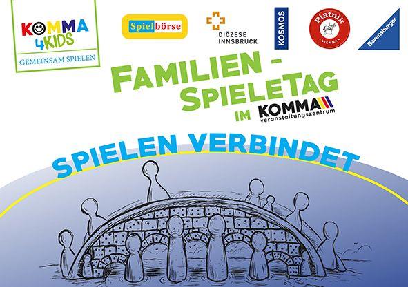 1. Familien-Spieletag im Komma Wörgl. Grafik: Christian Opperer