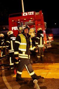 FF-Jahreshauptübung in Wörgl. Foto: Wilhelm Maier