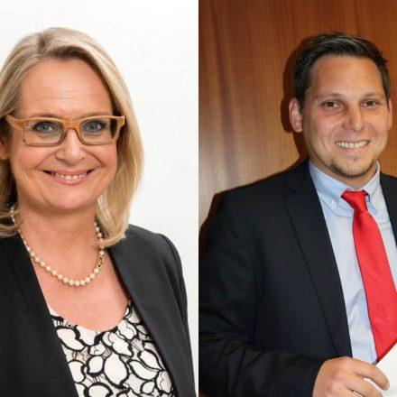 Carmen Schimanek und Christian Kovacevic.