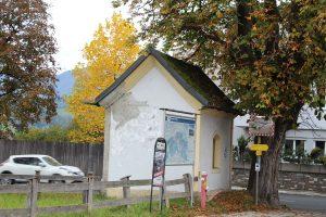 Riedhart-Kapelle Wörgl im Oktober 2017. Foto: Veronika Spielbichler