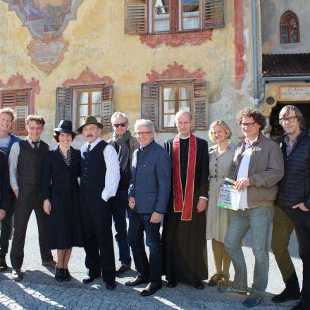 """Medien-Setbesuch """"Der Geldmacher"""" am 18. Oktober 2017 in Inzing. Foto: Christian Spielbichler"""