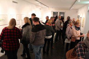 Ausstellung Sepp Rangger Gesamtwerk in Art und Weise 6.-9.10.2017. Foto: Veronika Spielbichler