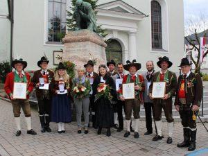 Jahreshauptversammlung der Sepp Innerkofler Schützenkompanie in Wörgl am 5.11.2017. Foto: Wilhelm Maier