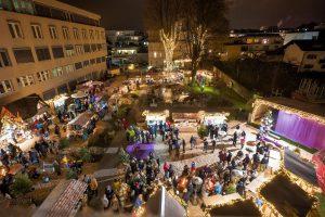 Der Wörgler Christkindlmarkt findet auch heuer wieder jeden Samstag Nachmittag im Advent im Seniorenheim-Stadtpark statt. Foto: Dabernig