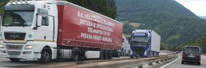 Lkw-Transitverkehr Brennerautobahn. Foto: Veronika Spielbichler