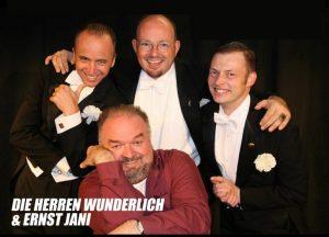 Die Herren Wunderlich und Ernst Jani gastieren am 16. Dezember 2017 im Komma Wörgl. Foto: Herren Wunderlich