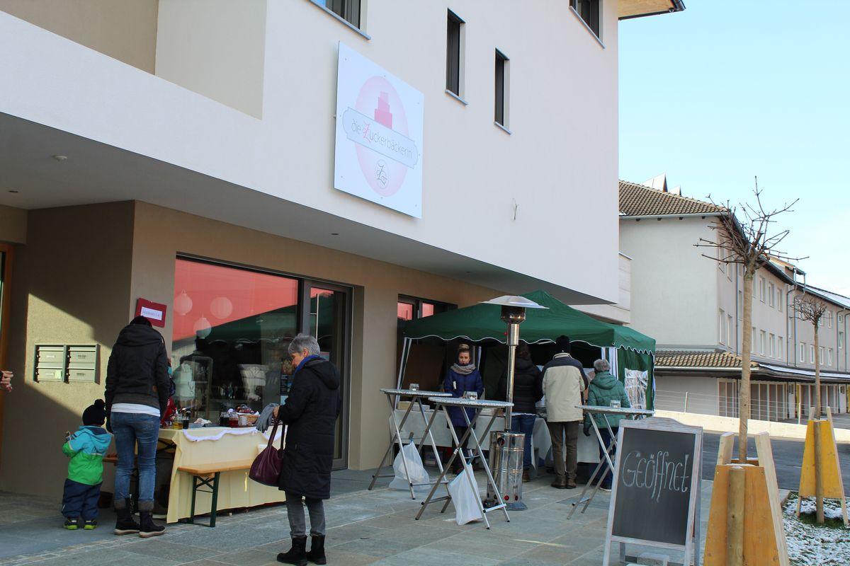 1. Spezialitätenmarkt bei Zuckerbäckerin Claudia Taxer in Wörgl-Boden am 2.12.2017. Foto: Veronika Spielbichler