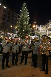 Wörgler Christbaumfeier am 1.12.2017. Foto: Veronika Spielbichler