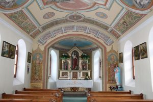 Innenansicht der Hauser-Kapelle. Foto: Spielbichler