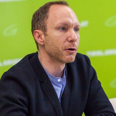 Georg Kaltschmid kandidiert für die Tiroler Grünen bei der Landtagswahl 2018. Foto: Tiroler Grüne