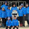 Siegerteam SC Lattella Wörgl Jänner 2018. Foto. SC Lattella Wörgl