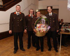 Jahreshauptversammlung der FF Kirchbichl am 5.1.2018. Foto: Wilhelm Maier