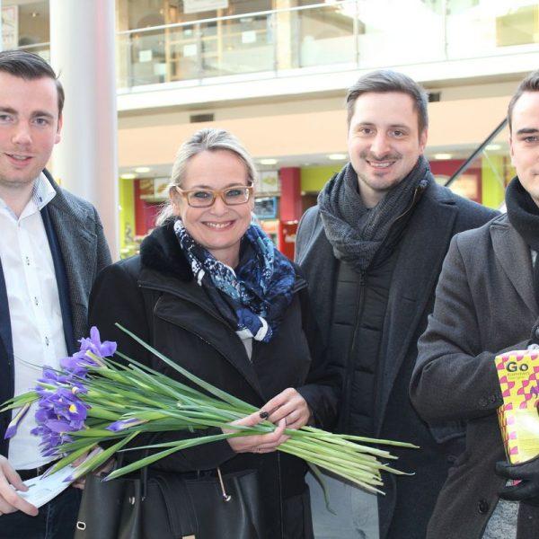 FPÖ-Wahlkampfeinsatz in Wörgl am 14.2.2018. Foto: Veronika Spielbichler