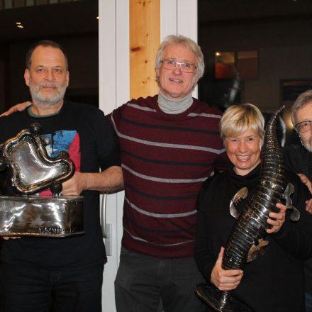Jahreshauptversammlung der Freunde zeitgenössischer Kunst Kramsach-Tirol am 18.2.2018. Foto: Veronika Spielbichler