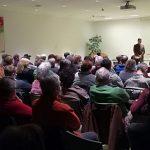 """Film und Diskussion """"Das System Milch"""" am 27.2.2018 im Tagungshaus Wörgl. Foto: Willi Spielbichler"""