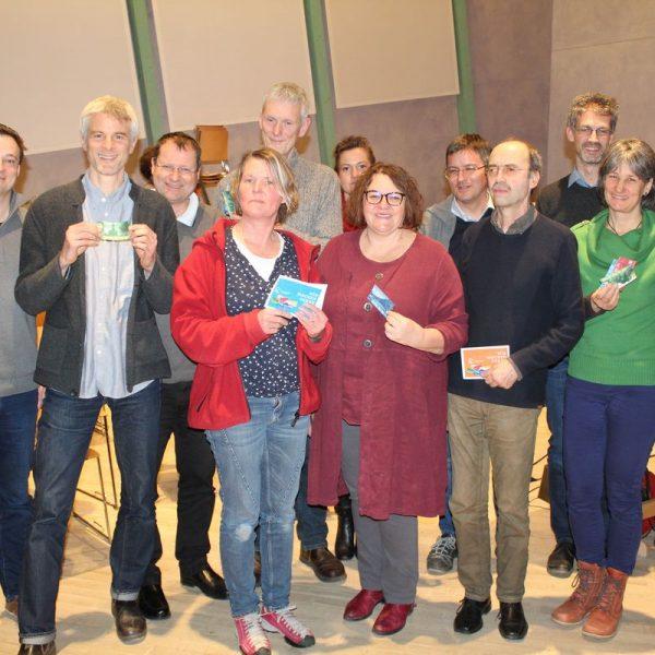 15 Jahre Chiemgauer – Vernetzungstreffen Regiogeld-Verband und Jubiläumsfeier am 3.3.2018. Foto: Unterguggenberger Institut