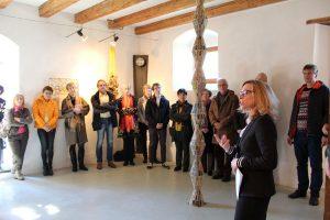 """Vernissage Ausstellung """"Der Stand der Dinge"""" am 24.3.2018 im Kunstforum Troadkastn in Kramsach. Foto: Veronika Spielbichler"""