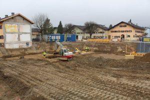 NHT-Baustelle Südtiroler Siedlung Wörgl März 2018. Foto: Veronika Spielbichler