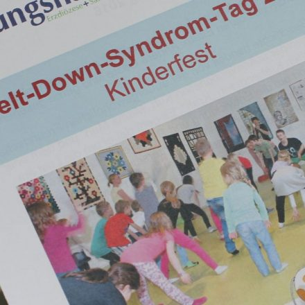 Das Tagungshaus Wörgl lädt zum Welt-Down-Syndrom-Tag am 21. März 2018 wieder zum Kinderfest für alle.