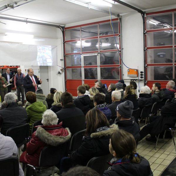Infoabend Primafreunde am 7.3.2018 im Feuerwehrhaus Kastengstatt in Kirchbichl. Foto: Veronika Spielbichler