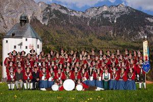 Die BMK Mariastein spielt am Donnerstag Abend in der Dreiklee-Halle in Angerberg auf. Foto: BMK Mariastein
