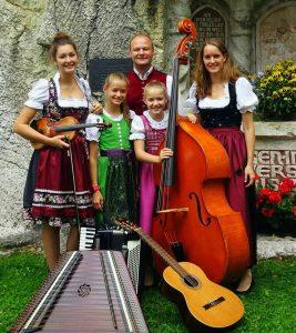 Die Familienmusik Puchleitner ist am Donnerstag zu hören. Foto: Familienmusik Puchleitner