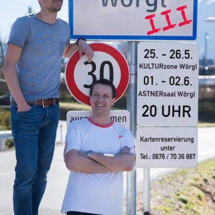 Stefan Peschta und Jürgen Chmela-Heiss laden wieder zum kabarettistischen Jahresrückblick. Foto: privat
