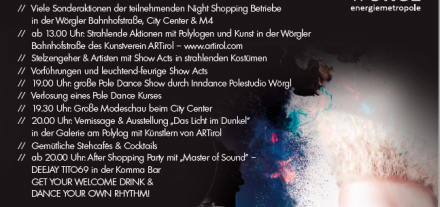 Night Shopping in Wörgl am 1. Juni 2018. Foto: SCW